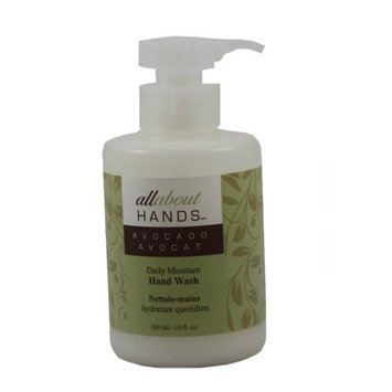 Upper Canada Soap   Candle Upper Canada Soap & Candle All About Hands Avocado Daily Moisture Hand Wash, 10-Ounce Pump Bottle (Pack of 2)