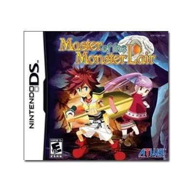 Master of the Monster Lair Nintendo DS Game ATLUS