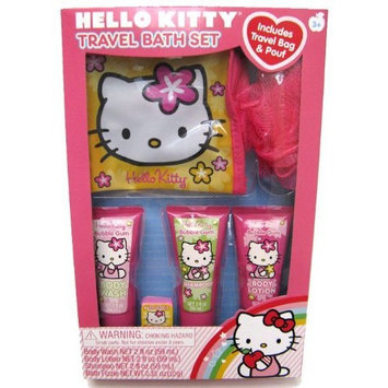 Hello Kitty Travel Bath Set