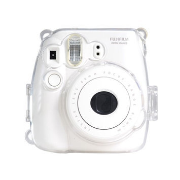 Colorful Plastic Protect Case for Fujifilm Instax Mini 8 Polaroid Camera Clear