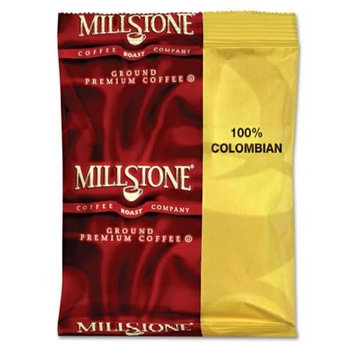 Folgers Millstone 64102 Gourmet Colombian Coffee, 1 3/4 oz Packet, 40/Carton