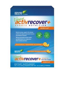Plant Based Activfuel + Orange Genuine Health 10 x 22.4g Packets Box