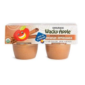 Wacky Apple BCA22502 Og1 AppleSauce Cinnamon 6 x 4 Pack