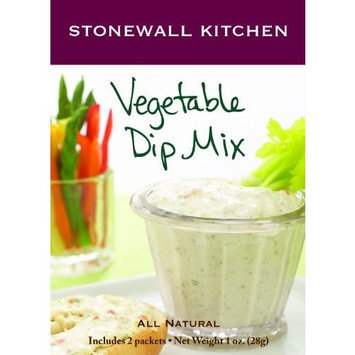 Stonewall Kitchen Vegetable Dip Mix, 1-Ounce Boxes (Pack of 6)