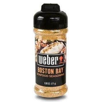 Weber BOSTON BAY SEAFOOD Seasoning 3 oz. Bottle (Pack of 2)
