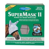Farnham Farnam SuperMask II Classic Horse Fly Mask with Ears, X-Lrg., Assorted