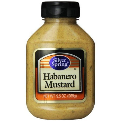 Silver Springs Habanero Mustard, 9.5-Ounce (Pack of 9)