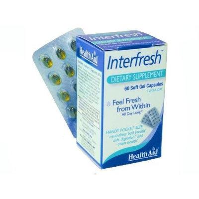 Healthaid Health Aid Interfresh (Fresh Breath Capsules) - Blister Pack 60 Capsules