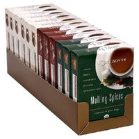 Davidson's Tea Davidson Organic Tea 2192 Assorted Christmas Teas Tea Box of 8