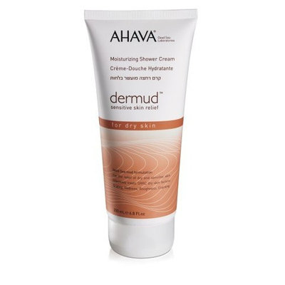 AHAVA Dermud Moisturizing Shower Cream, 6.8 fl. oz.