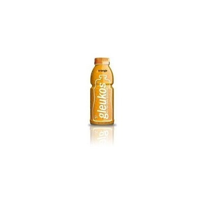 Gleukos All-Natural Sport Drink Body Fuel - Orange, 20-Ounce (Pack of 12)