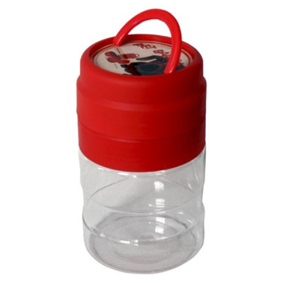 New Age Pet s Clear/Red GoPet Mess Kit