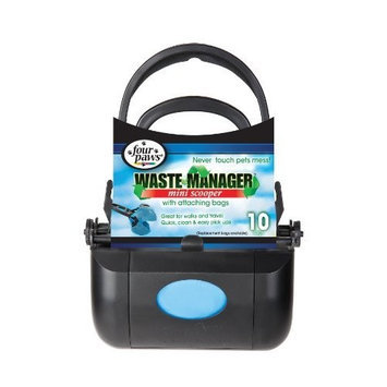 Four Paws Waste Manager Doggie Doo Mini Scooper with Bags