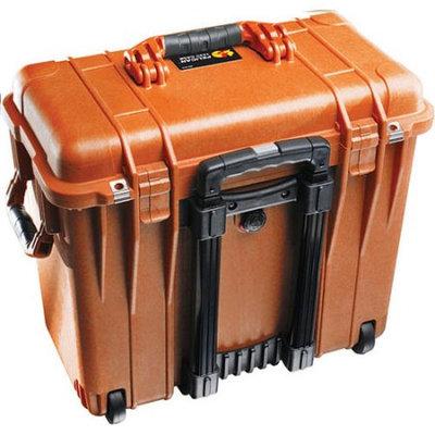 PELICAN 1440 CASE W/FOAM/WHEELS ORANGE