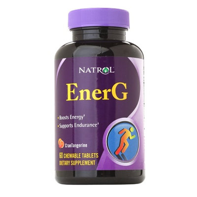 Natrol EnerG Chewable Tablets