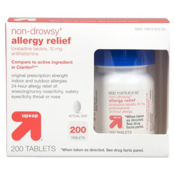 up & up Non Drowsy Allergy Relief Tablets