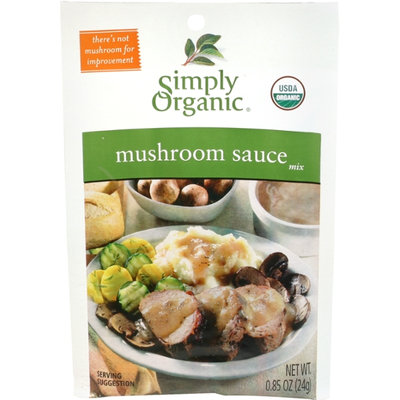 Simply Organic Certified Organic Mushroom Sauce Seasoning Mix