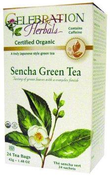 Celebration Herbals Green Tea Sencha Organic 24 Tea Bags