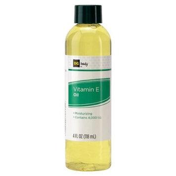 DG BODY Moisturizing Vitamin E Oil, 4,000 IU 4 oz