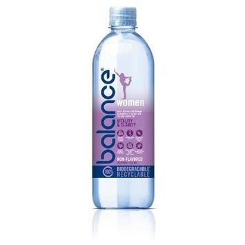 Balance Water, Women, 16.9 Ounce Bottles (Pack of 24)