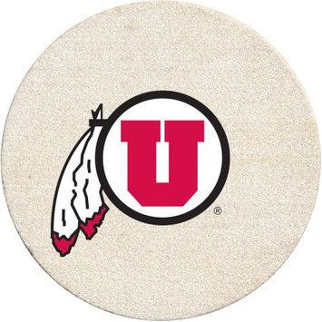 Thirstystone Drink Coaster Set, University of Utah
