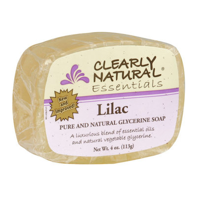 Clearly Naturals Clearly Natural Glycerine Bar Soap Lilac 4 oz