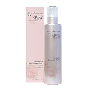 Alicia Silverstone for Juice Beauty Simply Pure Chamomile Cleanser
