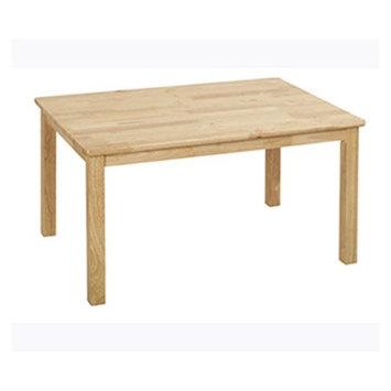 Ecr4kids 24x36 Rect. Hardwood Table w/18 Legs