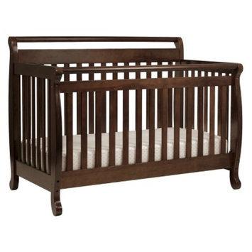 DaVinci Emily 4-in-1 Convertible Crib with Toddler Rail - Espresso