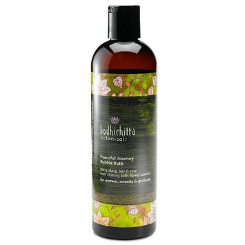 Bodhichitta Botanicals Peaceful Journey Bubble Bath, 12 Ounce