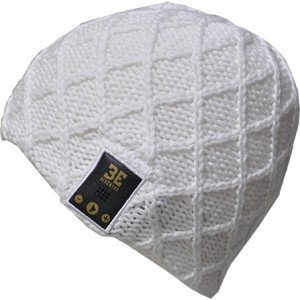 Be Headwear LN0015 Lovespun Bt Knitted White Out