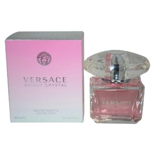 Women's Versace Bright Crystal by Versace Eau de Toilette Spray - 3 oz
