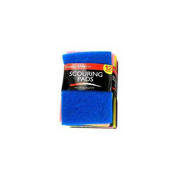 DDI Scouring Pads 12 Piece- Case of 60