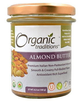 Organic Traditions Almond Butter 6.3 oz