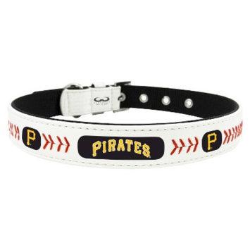 GameWear Pittsburg Pirates Classic Leather Large Baseball Collar