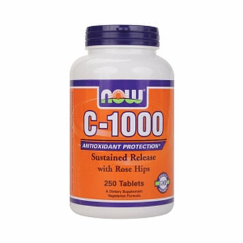 NOW Foods Vitamin C-1000 with Rose Hips
