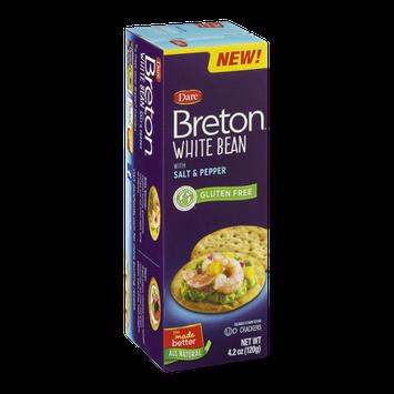 Breton Crackers White Bean With Salt & Pepper