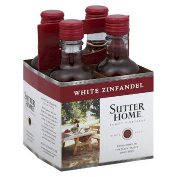 Sutter Home White Zinfandel Wine 187 ml, 4 pk