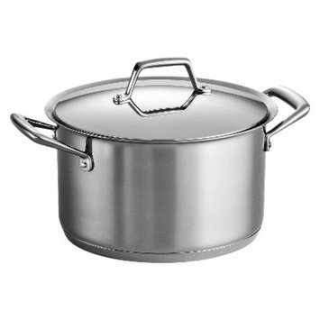 Tramontina Gourmet Prima 8 Quart Tri-Ply Base Covered Stock Pot