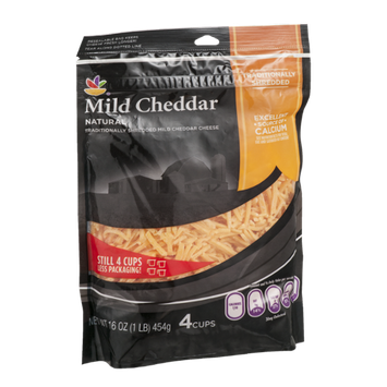 Ahold Traditionally Shredded Cheese Mild Cheddar