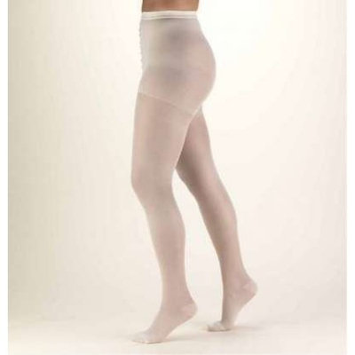 Truform Lites Pantyhose, Tall, White (Pack of 2)