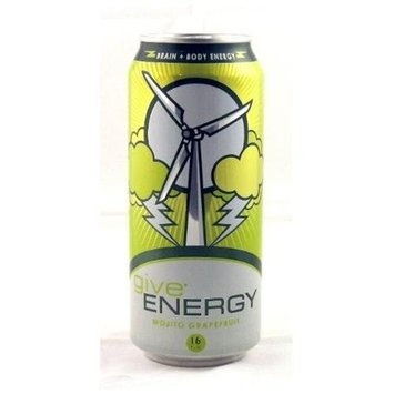 Give Energy Drink Mojito Grapefruit