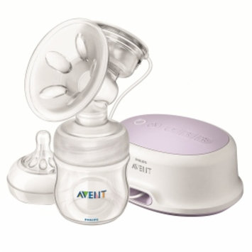 Avent BPA Free Natural Handheld Single Electric Breast Pump