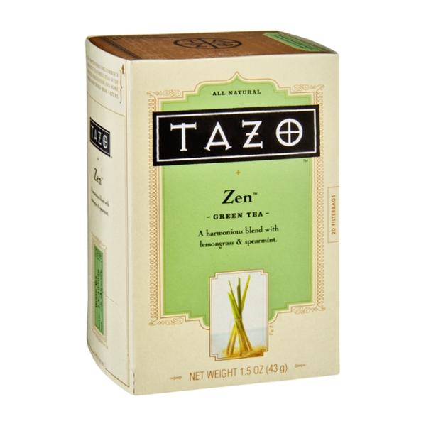 Tazo Zen All Natural Green Tea Filterbags - 20 CT