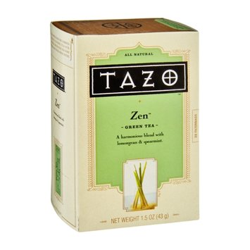 Tazo Zen All Natural Green Tea Filterbags - 20 CT