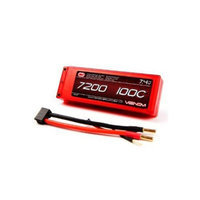 Venom Group International 100C 2S 7200mAh 7.4v LiPO Battery Hard Case ROAR Approved with UNI Plug