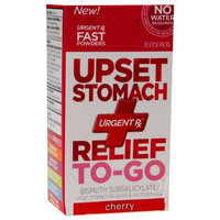 UrgentRx Upset Stomach Relief To-Go Cherry