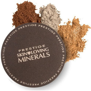 Prestige Cosmetics Prestige Skin Loving Minerals Shimmering Trios Mineral Eye Shadow Dust MET-02 Luster