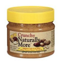 Naturally More Crunchy Peanut Butter, 16 oz