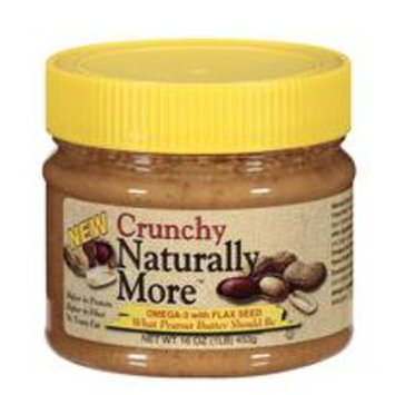 Naturally More Crunchy Peanut Butter, 16 oz